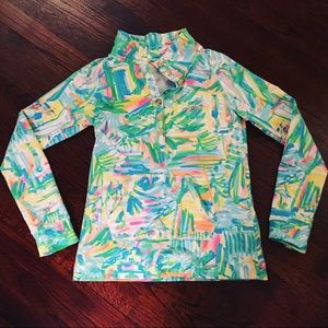 Lilly Pulitzer Sea, Salt & Sun Popover, Size XS